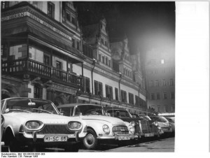 """Leipzig, """"Altes Rathaus"""", Nacht"""