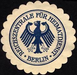 Reichszentrale fuer Heimatdienst - Berlin
