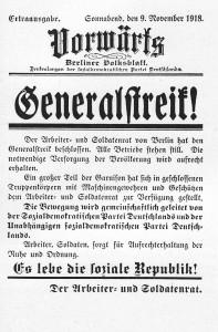 Vorwaerts_Generalstreik_1918