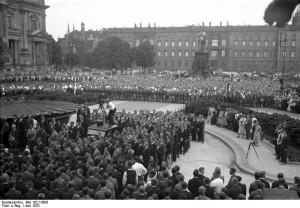 Berlin, Kundgebung gegen Versailler Vertrag
