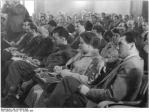 Berlin, Pressekonferenz, Journalisten