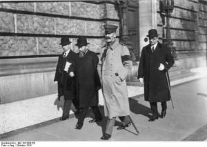Berlin, Deutelmoser, Max v. Baden, v. Radowitz