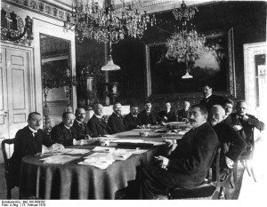 Weimar, Regierung Scheidemann