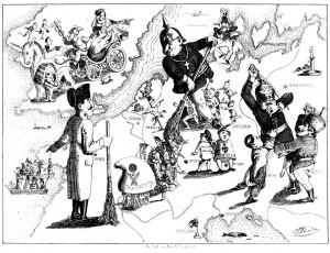 Rundgemaelde_Europa_1849_Karikatur