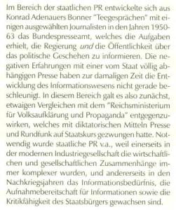 Über Adenauers Teegespräche Hein in PR-Forum 1 97 S. 42 Magisterarbeit