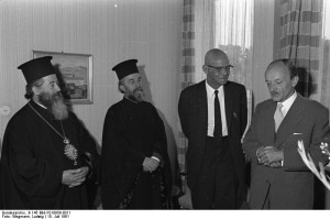 Bonn, BPA, Empfang Geistlicher Würdenträger