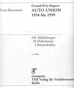 Kirchberg 1984 Innentitel